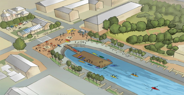 Proposed Navy Yard kayaks