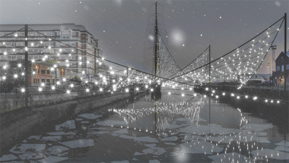 Proposed Navy Yard lights
